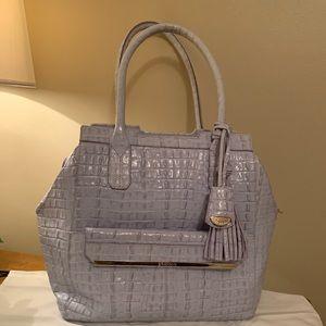 Brahmin Light Blue Handbag
